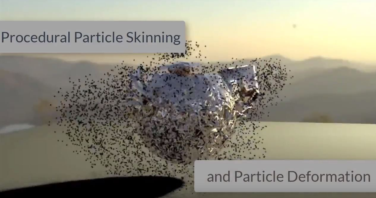 6.7 particle skinning