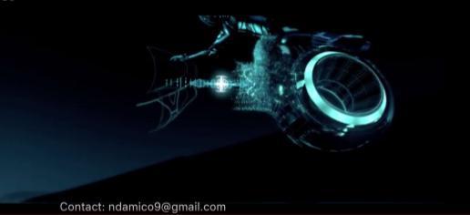 Tron Legacy bike xformation