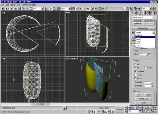 ScalpelMAX для 3ds Max 2010 и 3ds Max 2009.ScalpelMAX модификатор для