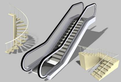 Escaleras param tricas en 3d cebas stairmax para 3dsmax for Escaleras 3d max